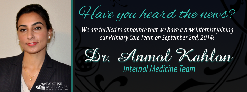 Dr. Kahlon - 2014 Web Announcement