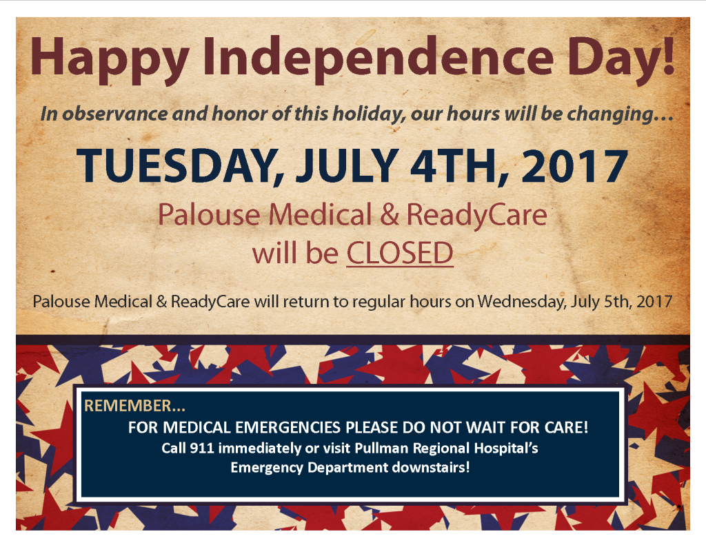 4th of July 2017 - Office Closed Signs