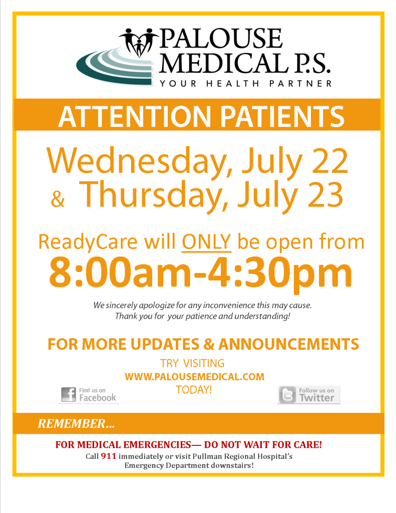 RC Adjusted Hours July 22 and July 23 2015