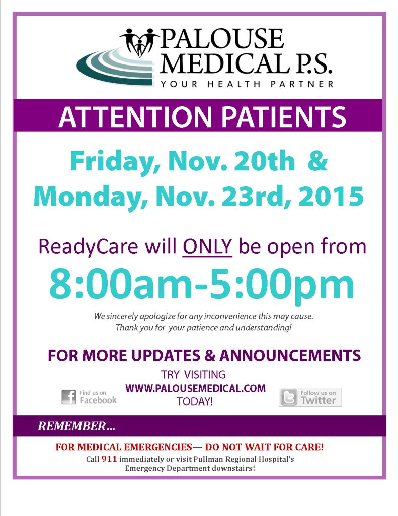 RC Adjusted Hours Nov 2015