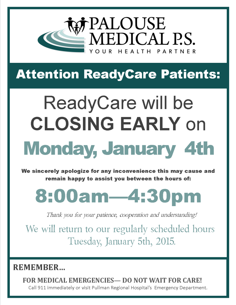 RC Closing Early Sign 2016 - Jan 4