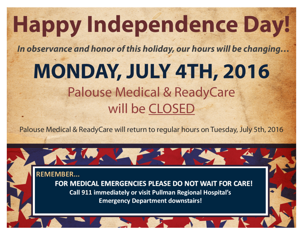 4th of July 2016 - Office Closed Signs