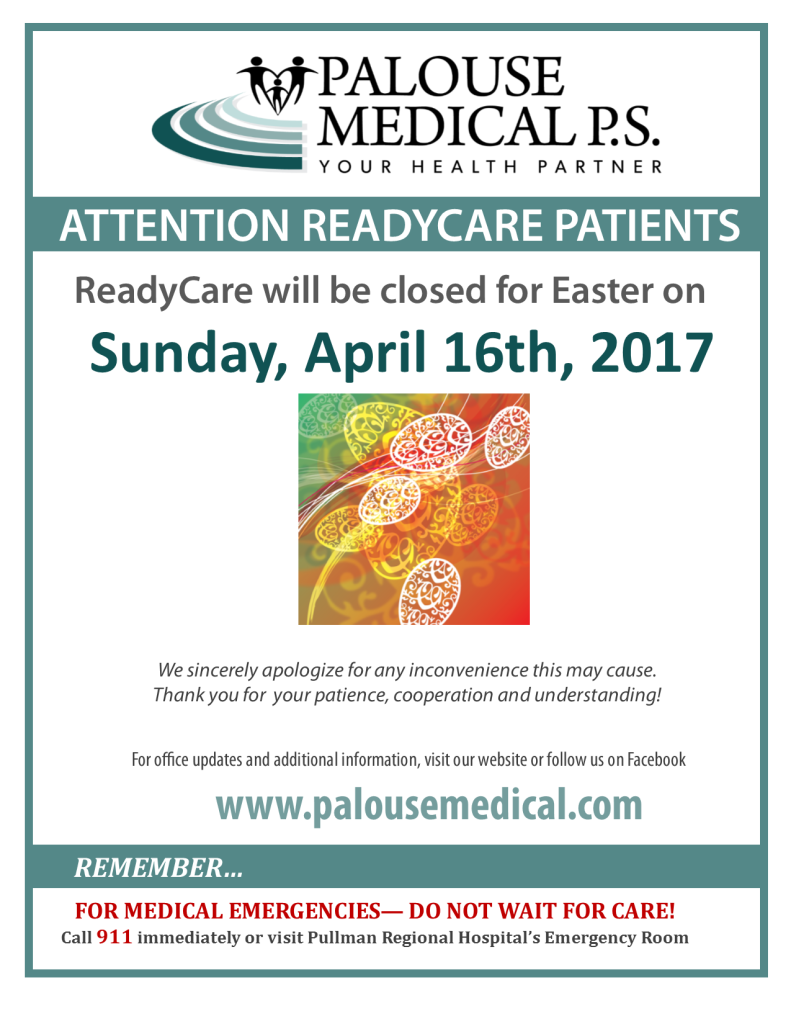 RC Closed Sign 2017 - Easter